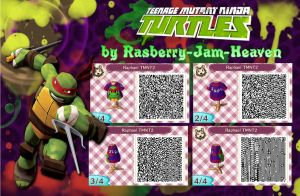 Teenage Mutant Ninja Turtles : Raphael QR code by Rasberry-Jam-Heaven