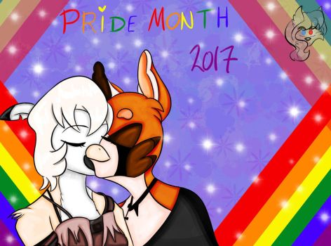 Lisa and Kyra :LGBT Pride: by D-EEVA