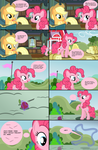 Pinkie Pie And The Magic Apple by Noah-x3