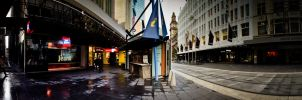 Bourke Street 02 - Melbourne by dzign-art