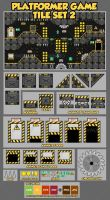 The Factory - Game Tileset by pzUH