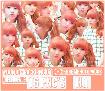 Yoonjo (Hello Venus) - PACK PNG #01 by JeffvinyTwilight