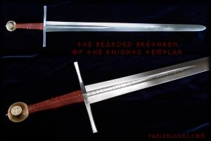 The Bearded Brethren of the Knights Templar by Fableblades