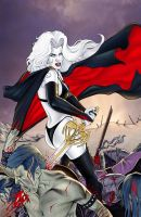 Lady Death Auxiliary 1 cover by MDiPascale