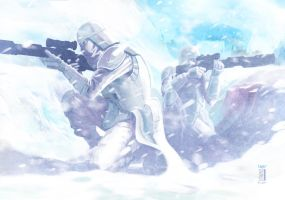 -- Snowtroopers -- by wyv1