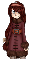 Kaia winter clothes by MishaChanX
