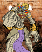 Happy Halloween~ Kyle Z. the Undead Pharoah by YamiBroly777