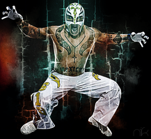 Rey Mysterio by nicollearl