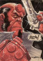 Hellboy by Cinar