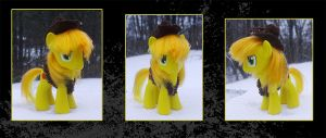 My Little Pony Braeburn Custom by kaizerin