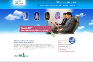 AirAid Website by irfanrahmed