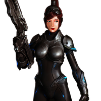 Sarah Kerrigan Render 1 by Moon-Rice