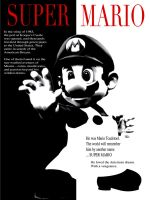 mario scarface by samfrei