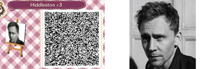 Animal Crossing New Leaf QR Code - Tom Hiddleston by SirEvilPapy