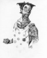 sketch: clocwork clown by JoelAmatGuell