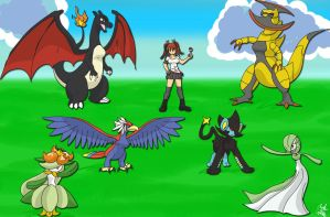 lucario515 Pokemon Team by GeneralGibby
