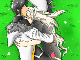 [Elsword] Raven x Eve (Recolor) by Shanieh