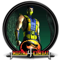 Mortal Kombat 4 Scorpion Icono by Nacho94
