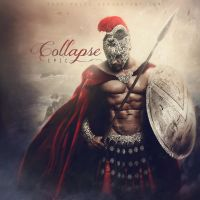 Collapse. ALBUM COVER by push-pulse