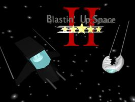 Blastin' Up Space II Logo by Etrocal
