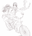 Points Commission :Lovers Bicycle: For OPHS by NammyLank
