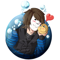 GermanLetsPlay - T-Shirt Design 15 - Puffi by RozeAkane