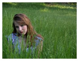 Swept Away in a Sea of Green by bloodyfool