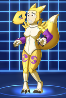 Mechsuit: Model Renamon by DSAPROX