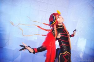 Loki Laevatein (God version) by NoNameCosplayTeam
