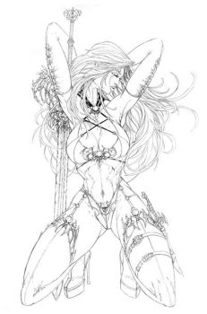 Lady Death by jamietyndall