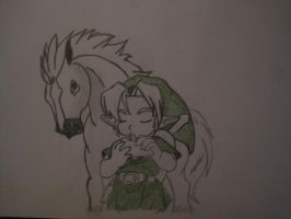 link and epona true friends by nami94