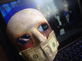 J Dog Mask fan made (Hollywood Undead) by catzillareowr