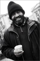 Pleased hobo by oyvindronning