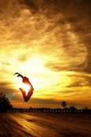 :: jump with my sunset :: by f3ndee
