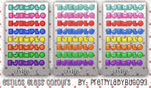 Estilos Glass Colours by PrettyLadybug093