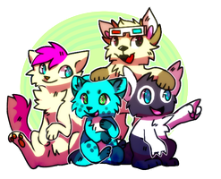 Group picture by choco-bit