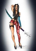 Warrior Girl by MagicianEpicArtist