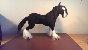 black Clydesdale by GwenPengam