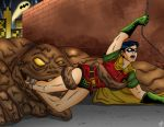 In the Clutches of Clayface by Bowen12a