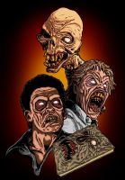 Evil Dead II Deadites by liquid-venom