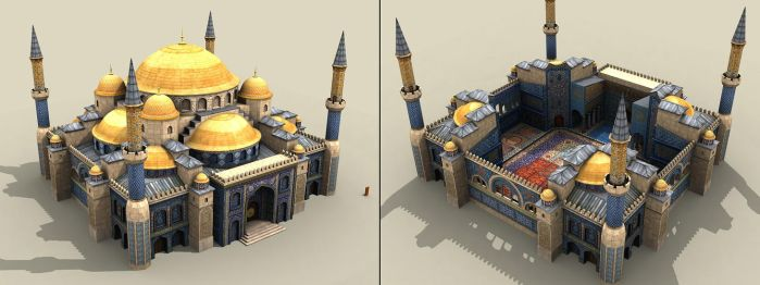 Mosque ingame object by floydworx