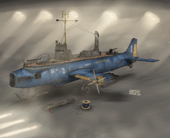 Anti Ship Torpedo boat Catena by AoiWaffle0608