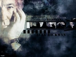 Alan Rickman by miraradak