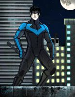 Nightwing- Arkham City by Gabzx18x