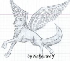 Angel by Nakouwolf