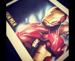Iron Man by al-turnertive