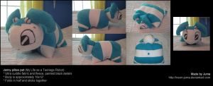 Jenny pillow pet by Neon-Juma