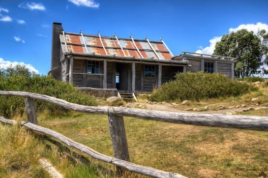 Craig's Hut - Victorian High Country by djzontheball