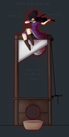 guillotines and violins by SiggyKuu