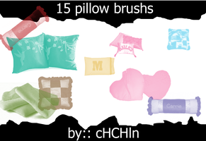 15 pillow brushs by chchln